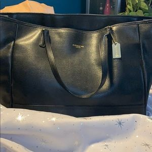 Coach large tote(used as briefcase)